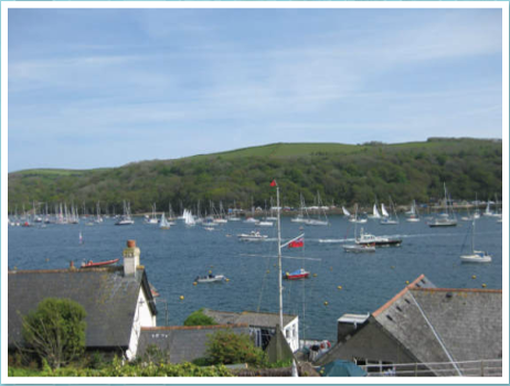 Views of Fowey River